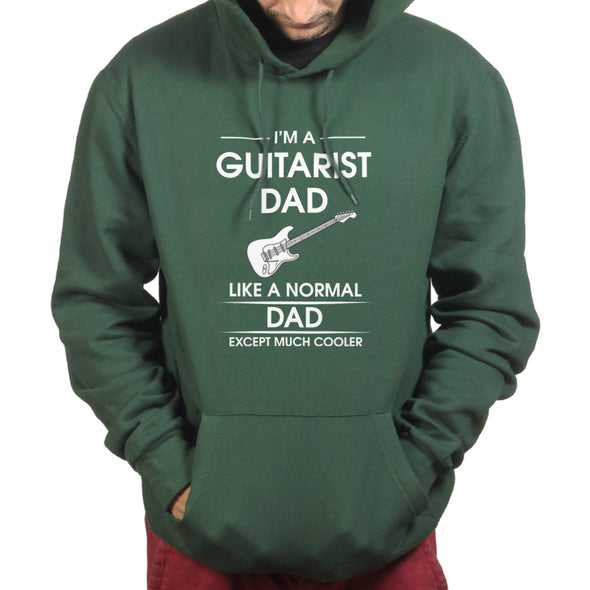 I'm a Guitarist Dad Like a Normal Dad Just Much Cooler Hoodie - Fretshirt.com