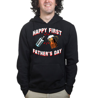 Happy First Father's Day Hoodie - Fretshirt.com