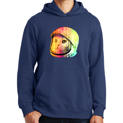 Hipster Space Cat Hoodie