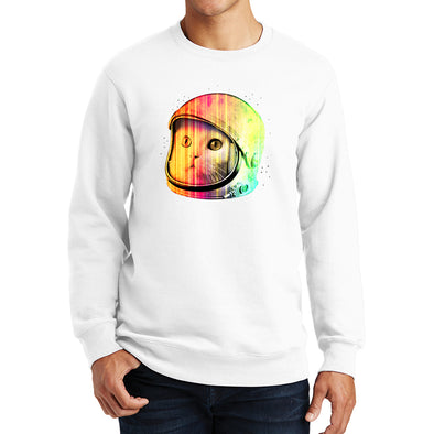 Hipster Space Cat Sweatshirt