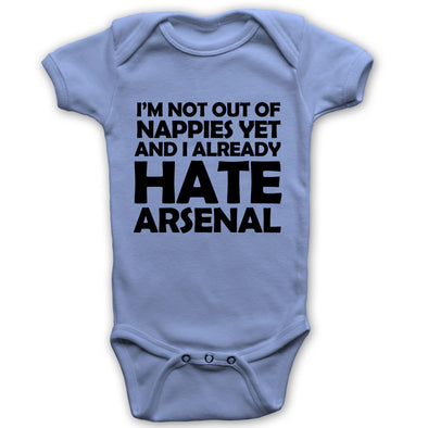 I Already Hate Arsenal Baby Grow