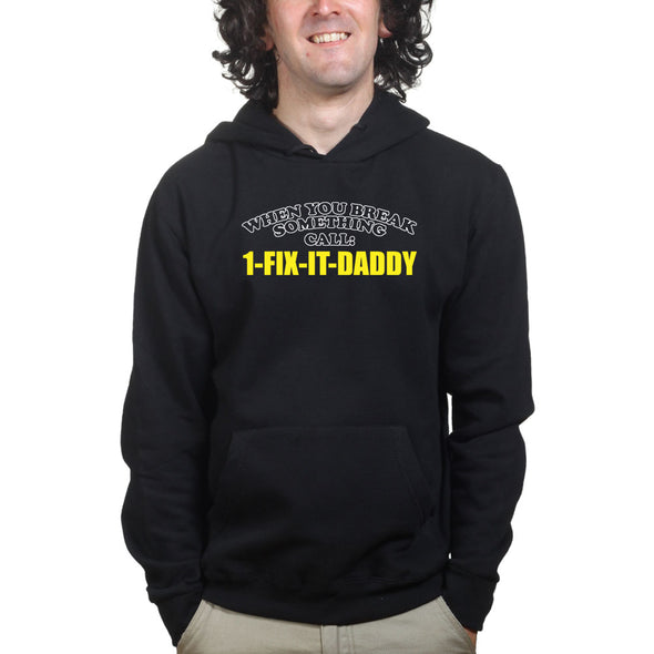 Call Fix It Dad Hoodie - Fretshirt.com