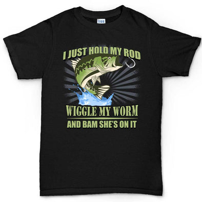 I Hold My Rod V2 T-Shirt - Fretshirt.com