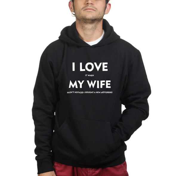 I Love It When My Wife Hasn't Noticed I Got A New Motorbike Hoodie, [product_type) - Fretshirt.com