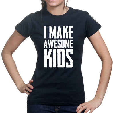 I Make Awesome Kids Women's T-Shirt - Fretshirt.com