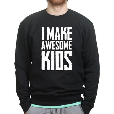 I Make Awesome Kids Sweatshirt - Fretshirt.com