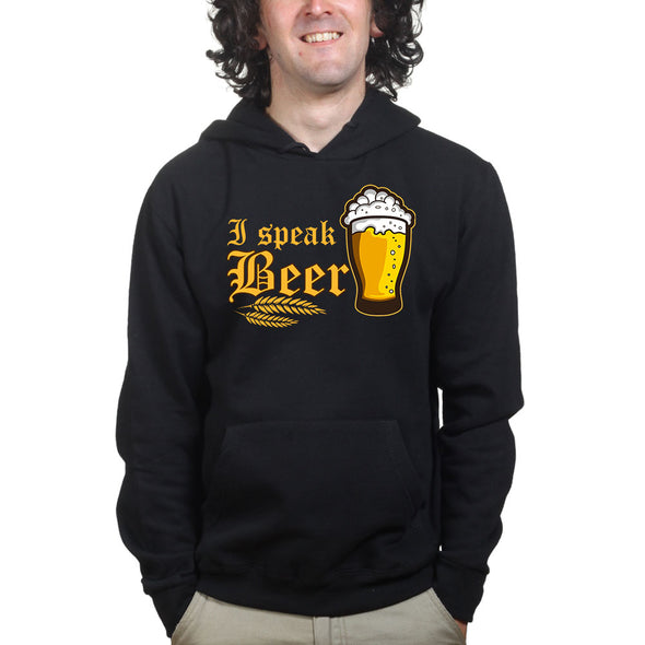 I Speak Beer Hoodie