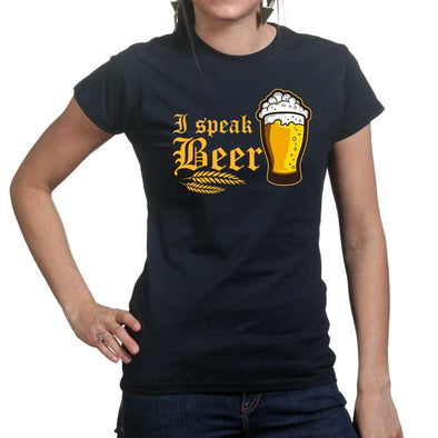 I Speak Beer Women's T-Shirt