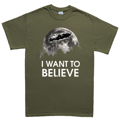 I Want To Believe Delorean Kid's T-Shirt - Fretshirt.com