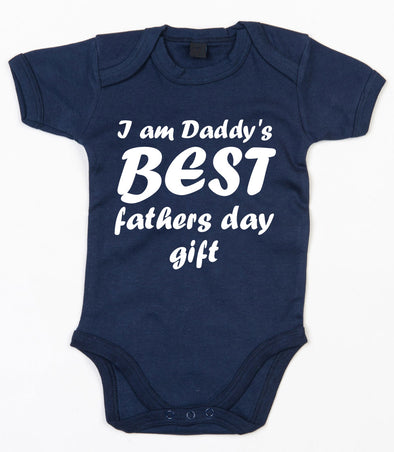 I am Daddy's Best Fathers Day Gift Baby Grow - Fretshirt.com