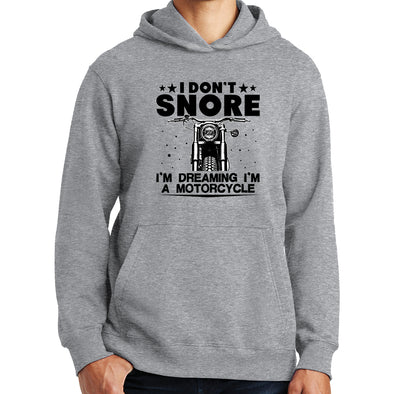 I Don't Snore Motorbike Hoodie