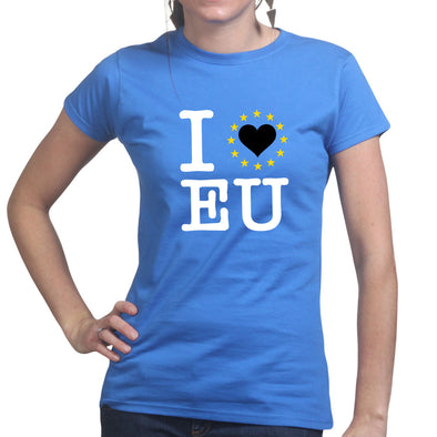 I Love EU You Stars Brexit Women's T-Shirt