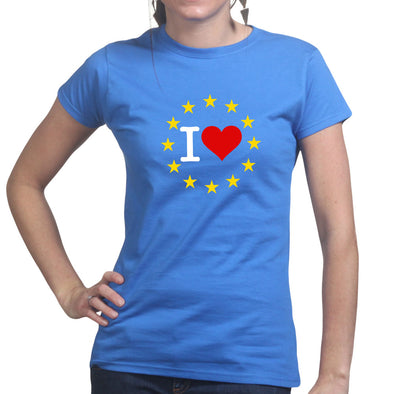 I Love You EU Brexit Women's T-Shirt