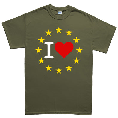 I Love You EU Brexit  Kid's T-Shirt