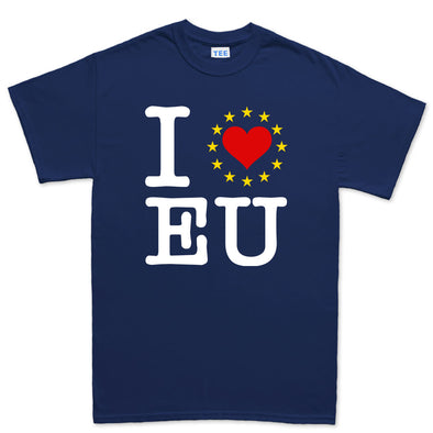 I Love EU You Stars Brexit Mens T-Shirt