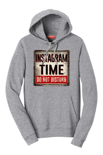 Instagram Time Do Not Disturb Hoodie