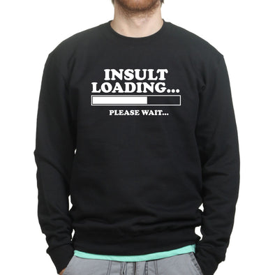 Insult Loading Kid's Sweatshirt