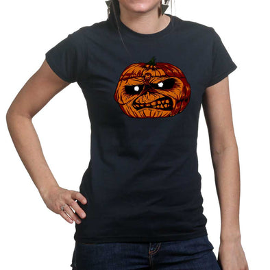 Iron Maiden Pumpkin Women's T-Shirt