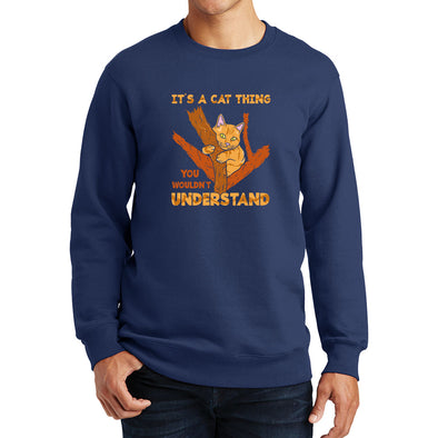It's A Cat Thing - Sitting In A Tree Sweatshirt