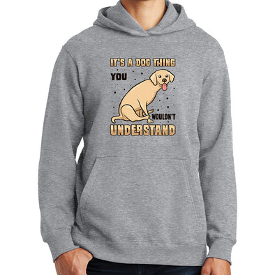 It's a Dog Thing Scooting Hoodie