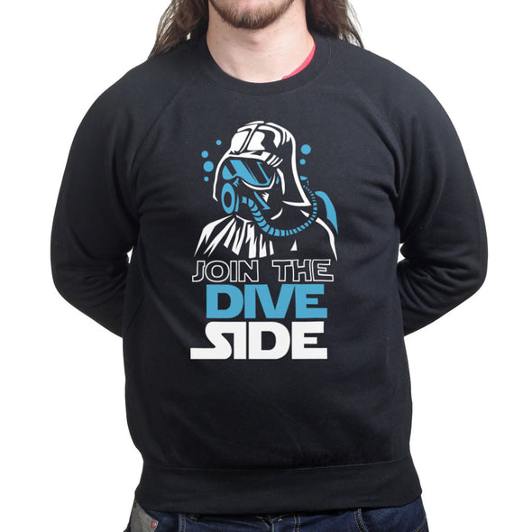Join The Dive Dark Side Sweatshirt - Fretshirt.com