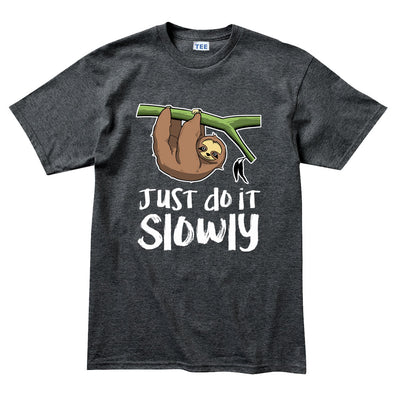 Just Do It Slowly Sloth Kid's T-Shirt