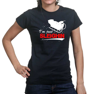 Just Sleighing Women's T-Shirt