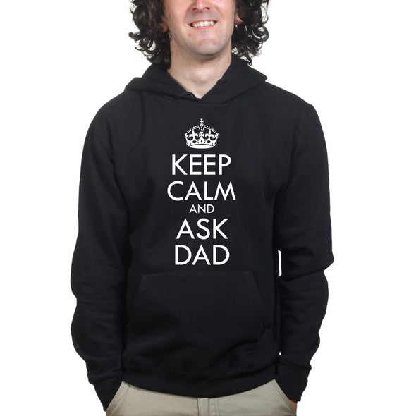 Keep Calm Ask Dad Hoodie - Fretshirt.com