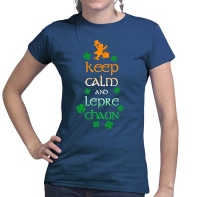 Keep Calm Leprechaun Women's T-Shirt