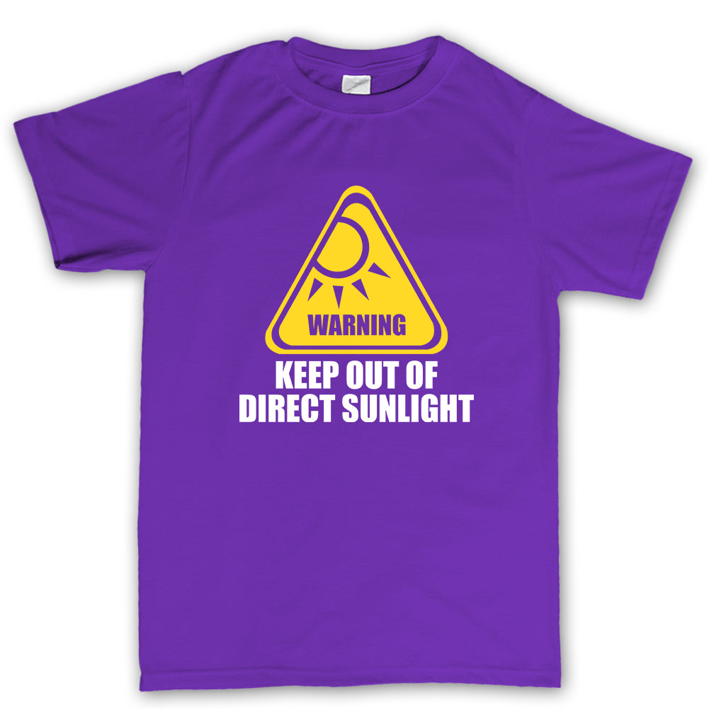 Keep Out Of Direct Sunlight t shirt
