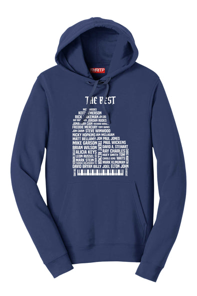 Keyboard & Piano Legends Hoodie