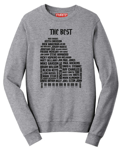 Keyboard & Piano Legends Sweatshirt