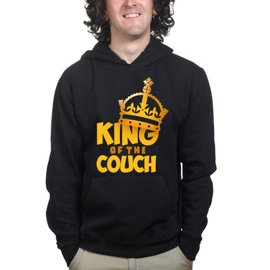 King Of The Couch Dad Hoodie - Fretshirt.com