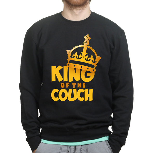 King Of The Couch Dad Sweatshirt - Fretshirt.com