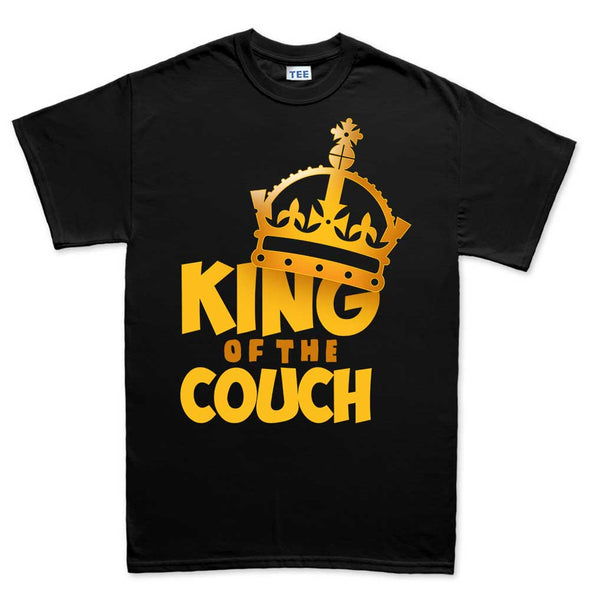 King Of The Couch Dad T-Shirt - Fretshirt.com