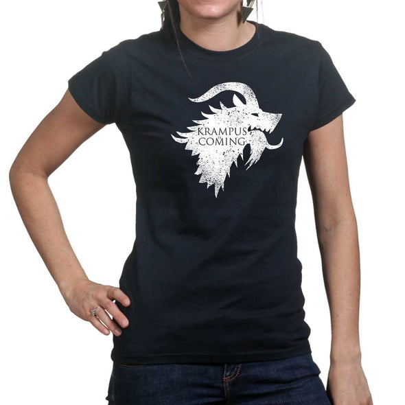 Krampus is Coming Women's T-Shirt - Fretshirt.com