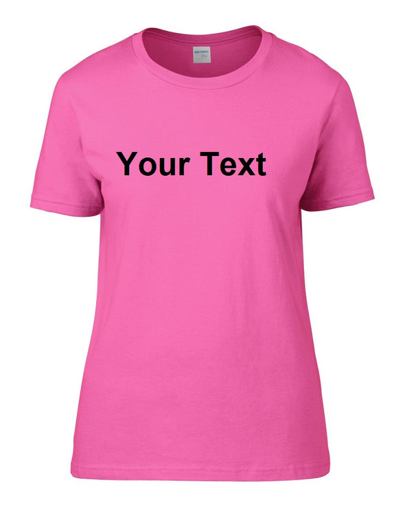 Personalised Women's T-Shirt, [product_type) - Fretshirt.com