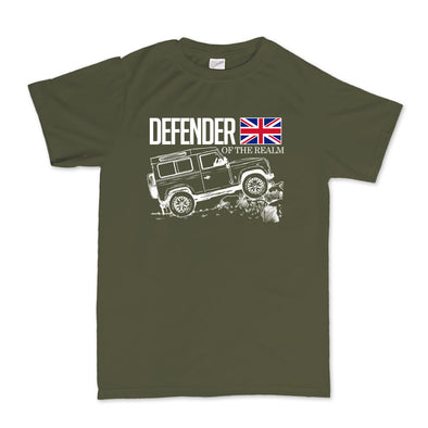 Land Rover Defender of the Realm Kid's T-Shirt - Fretshirt.com