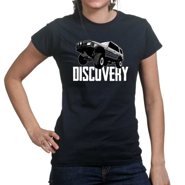 Discovery Off Road Women's T-Shirt - Fretshirt.com