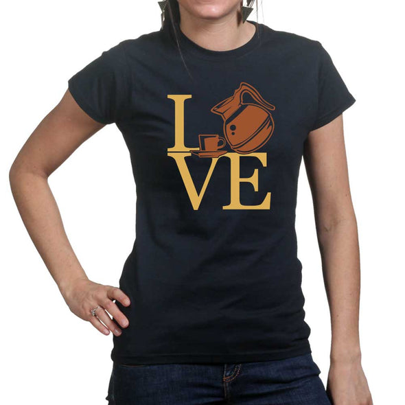 Love Coffee Women's T-Shirt - Fretshirt.com