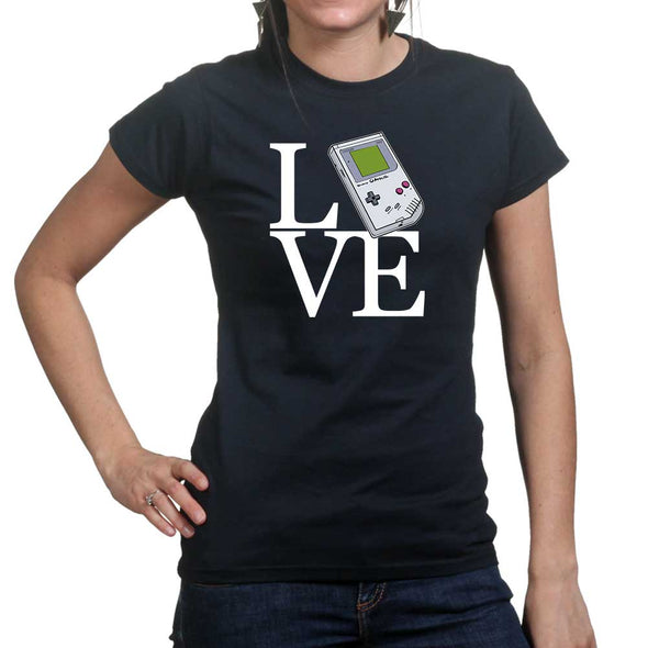 Love Gameboy Retro Game Console Women's T-Shirt - Fretshirt.com