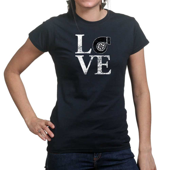 Love Turbo Women's T-Shirt - Fretshirt.com