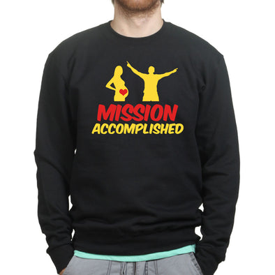 Mission Accomplished Dad Sweatshirt - Fretshirt.com