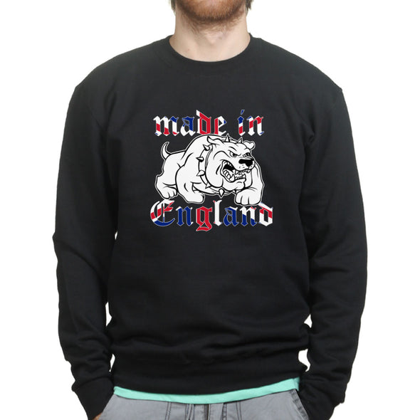 Made In England Bulldog Sweatshirt - Fretshirt.com