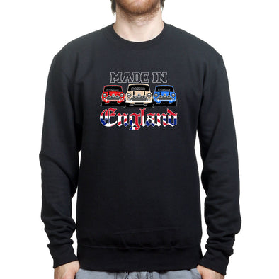 Classic Mini Car Made In England Sweatshirt - Fretshirt.com