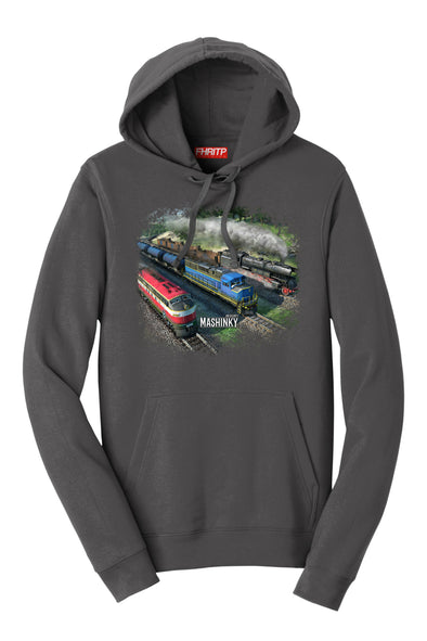 Mashinky -The Starting Line Up Hoodie