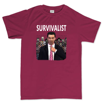 Survivalist - Medium Joe Wheeler T-Shirt
