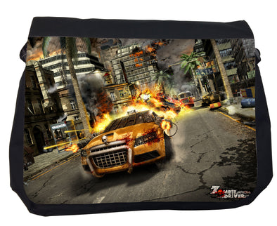 Zombie Driver Sublimation Messenger Bag