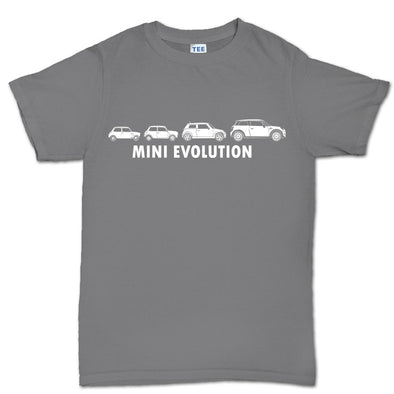 Evolution of Mini 1275 Classic Car Kid's T-Shirt - Fretshirt.com