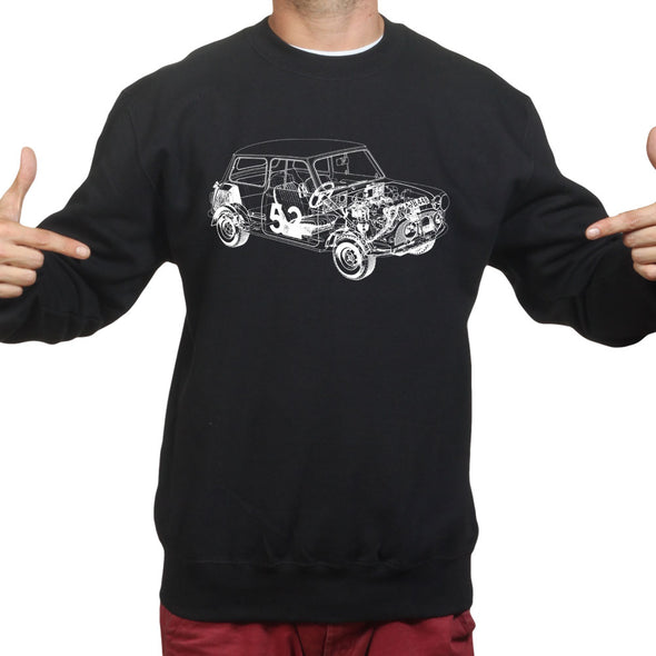 Austin Mini Classic 1275 Car Sweatshirt